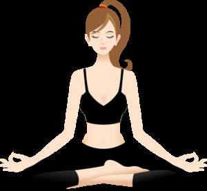 Alltags Yoga Meiningen Meditations-Lotussitz Dhyanasana