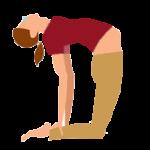 Alltags-Yoga Schwangerschaft Kamel Ustrasana