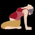 Alltags-Yoga Schwangerschaft Kamel-einfach Ustrasana
