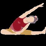 Alltags-Yoga Schwangerschaft Seitliche Oeffnung Parivrtta Janu Sirsasana