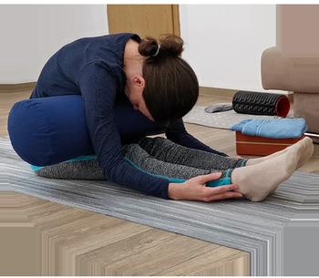 Yin Yoga Meiningen Vorwaertsbeuge Raupe